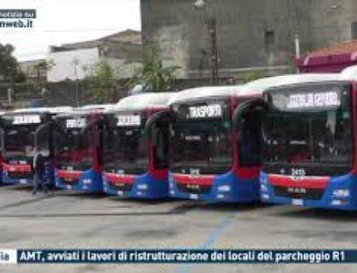 Catania – AMT, avviati i lavori di ristrutturazione dei locali del parcheggio R1