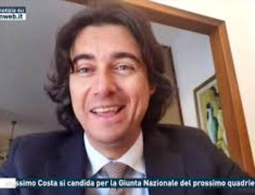 Coni – Massimo Costa si candida per la Giunta Nazionale del prossimo quadrienno