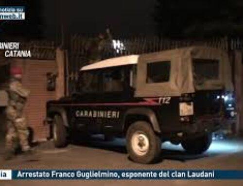 Catania – Arrestato Franco Guglielmino, esponente del clan Laudani