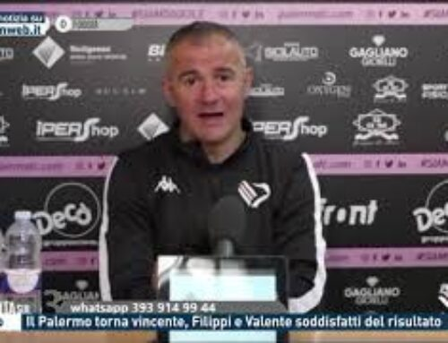 Calcio – Il Palermo torna vincente, Filippi e Valente soddisfatti del risultato