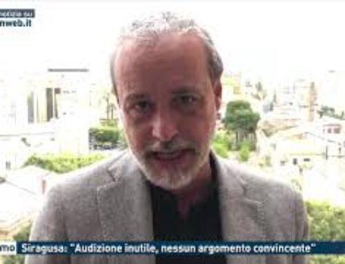 """Palermo – Siragusa: """"Audizione inutile, nessun argomento convincente"""""""