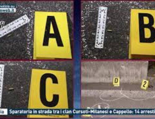 Catania – Sparatoria in strada tra i clan Cursoti-Milanesi e Cappello: 14 arresti