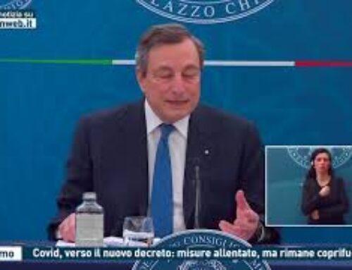 Palermo – Covid, verso il nuovo decreto: misure allentate, ma rimane coprifuoco