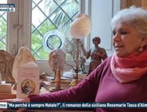 """Palermo – """"Ma perchè è sempre Natale"""", il romanzo della siciliana Rosemarie Tasca d'Almerita"""