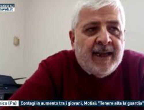 """Partinico (Pa) – Contagi in aumento tra i giovani, Motisi: """"Tenere alta la guardia"""""""