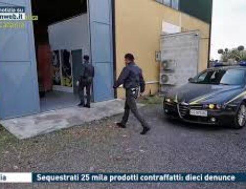 Catania – Sequestrati 25 mila prodotti contraffatti: dieci denunce