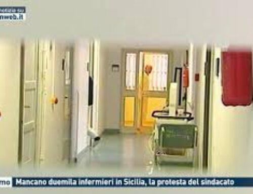 Palermo – Mancano duemila infermieri in Sicilia, la protesta del sindacato