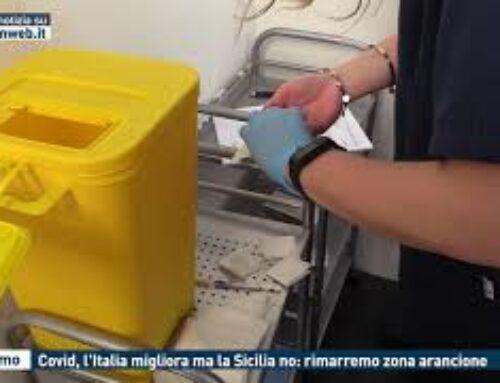 Palermo – Covid, l'Italia migliora ma la Sicilia no: rimarremo zona arancione