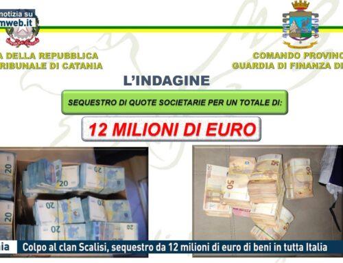 Catania. Colpo al clan Scalisi, sequestro da 12 milioni di euro di beni in tutta Italia