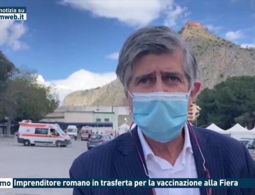 Palermo. Imprenditore romano in trasferta per la vaccinazione alla Fiera