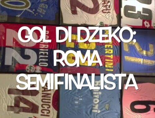Il pallone racconta – Gol di Dzeko: Roma semifinalista