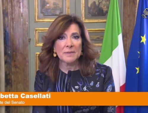 """Giornata Salute Donna, Casellati """"Siate generose con voi stesse"""""""