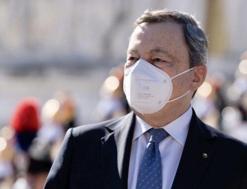 """Draghi """"Riaperture grazie a vaccini e rispetto delle regole"""""""
