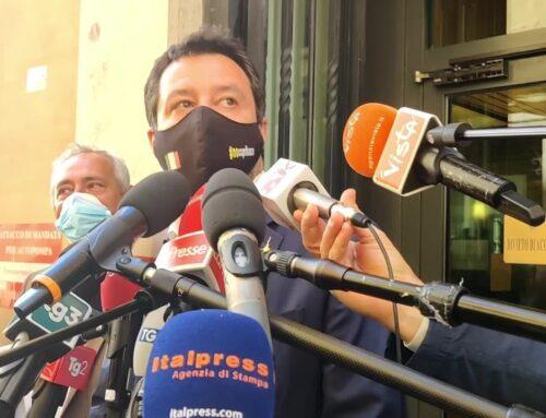"""Salvini """"Avanti con le riaperture, lo dicono i dati"""""""