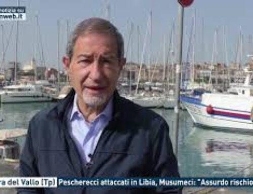 """Mazara del Vallo (Tp) – Pescherecci attaccati in Libia, Musumeci: """"Assurdo rischio vita"""""""