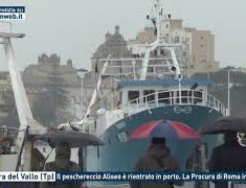 Mazara del Vallo (Tp) – Il peschereccio Aliseo è rientrato in porto. La Procura di Roma indaga