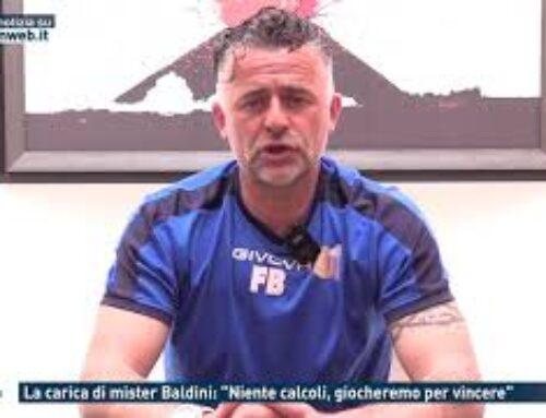 """Calcio – La carica di Mister Baldini: """"Niente calcoli, giocheremo per vincere"""""""
