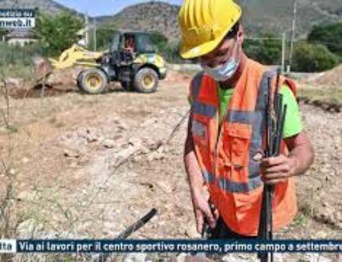 Torretta – Via ai lavori per il centro sportivo rosanero, primo campo a settembre