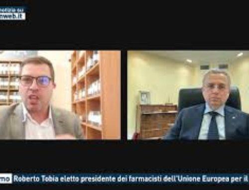 Palermo – Roberto Tobia eletto presidente dei farmacisti dell'Unione Europea per il 2022