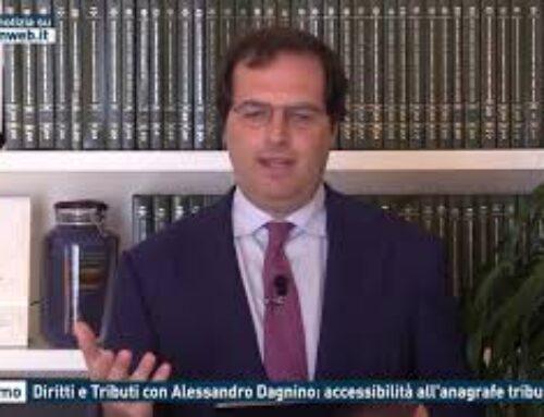 Palermo – Diritti e Tributi con Alessandro Dagnino: accessibilità all'anagrafe tributaria