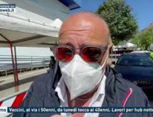 Palermo – Vaccini, al via i 50enni, da lunedì tocca ai 40enni. Lavori per hub notturno