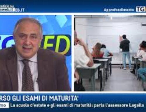 Palermo – La scuola d'estate e gli esami di maturità: parla l'assessore Lagalla