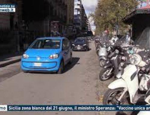 """Palermo – Sicilia zona bianca dal 21 giugno, il ministro Speranza: """"Vaccino unica arma"""""""