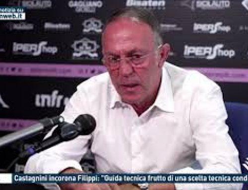 """Calcio – Castagnini incorona Filippi: """"Guida tecnica frutto di una scelta tecnica condivisa"""""""
