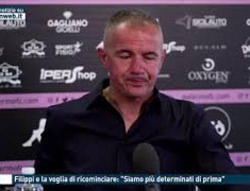 """Calcio – Filippi e la voglia di ricominciare: """"Siamo più determinati di prima"""""""