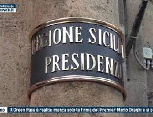 Palermo – Il Green Pass è realtà: manca solo la firma del Premier Mario Draghi e si parte