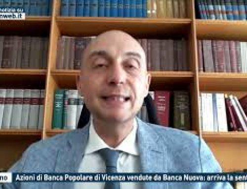 Palermo – Azioni di Banca Popolare di Vicenza vendute da Banca Nuova: arriva la sentenza