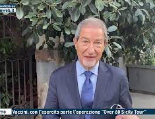"""Palermo – Vaccini, con l'esercito parte l'operazione """"Over 60 Sicily Tour"""""""