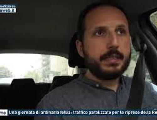 Palermo – Una giornata di ordinaria follia: traffico paralizzato per le riprese della Redbull