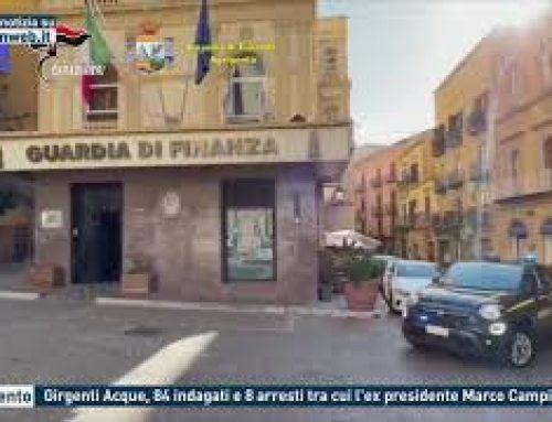 Agrigento – Girgenti Acque, 84 indagati e 8 arresti tra cui l'ex presidente Marco Campione