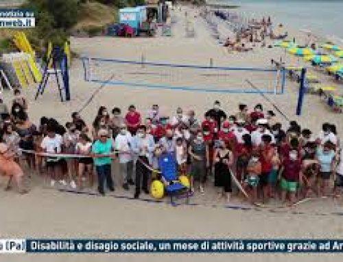Cefalù (Pa) – Disabilità e disagio sociale, un mese di attività sportive grazie ad Ancos