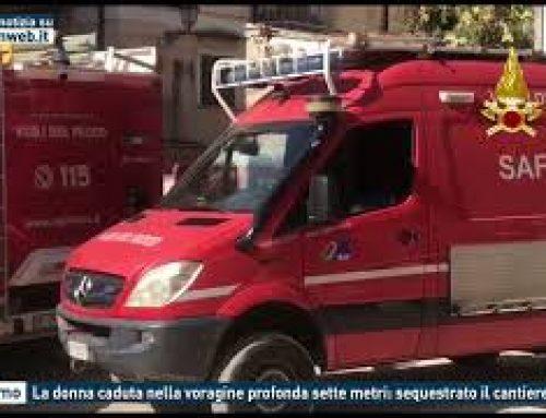 Palermo – La donna caduta nella voragine profonda sette metri: sequestrato il cantiere