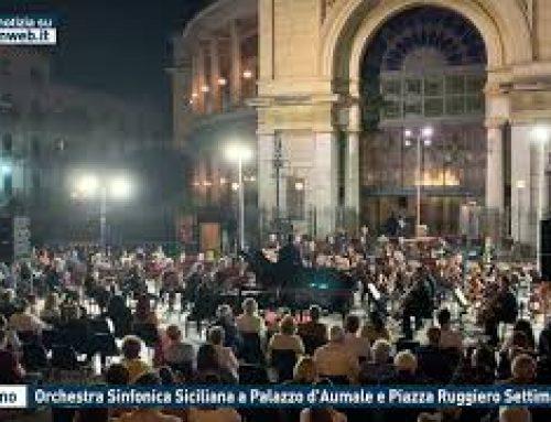 Palermo – Orchestra Sinfonica Siciliana a Palazzo d'Aumale e Piazza Ruggiero Settimo