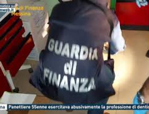 Messina – Panettiere 55enne esercitava abusivamente la professione di dentista