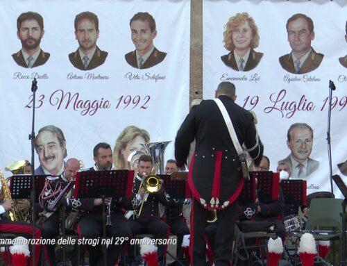 La Commemorazione delle stragi nel 29° anniversario