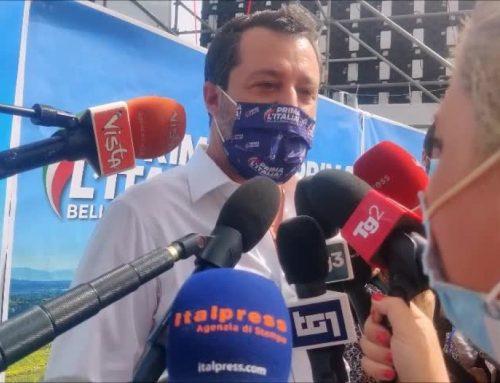 """Amministrative, Salvini """"Riparto dalle periferie"""""""