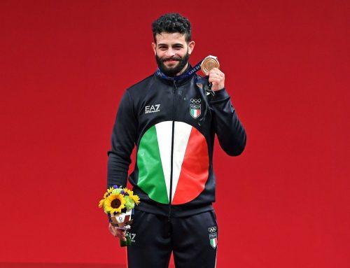 Pizzolato medaglia di bronzo nel sollevamento pesi