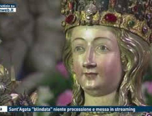 """Catania – Sant'Agata """"blindata"""" niente processione e messa in streaming"""
