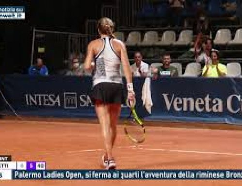 Tennis – Palermo Ladies Open, si ferma ai quarti l'avventura della riminese Bronzetti