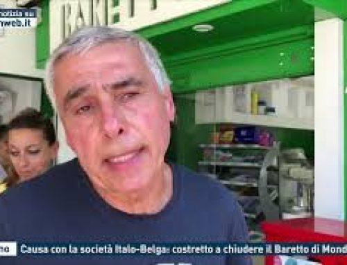 Palermo – Causa con la società Italo-Belga: costretto a chiudere il Baretto di Mondello
