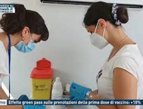 Palermo – Effetto green pass sulle prenotazioni della prima dose di vaccino: +10%
