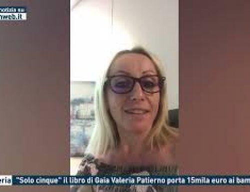 """Bagheria – """"Solo cinque""""il libro di Gaia Valeria Patierno porta 15mila euro ai bambini"""