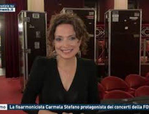 Palermo – La fisarmonicista Carmela Stefano protagonista dei concerti della FOSS