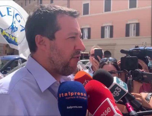"""Giustizia, Salvini """"Al lavoro per mediazione"""""""