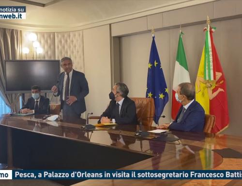 Palermo. Pesca, a Palazzo d'Orleans in visita il sottosegretario Francesco Battistoni