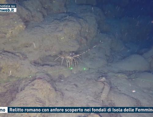 Palermo. Relitto romani con anfore scoperto nei fondali di Isola delle Femmine